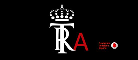 Logo de la app y de la Fundación Vodafone España