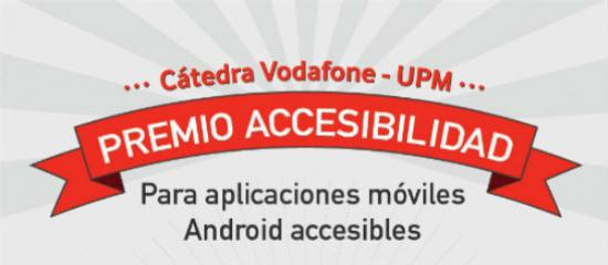 Logo del Premio Cátedra Vodafone-UPM