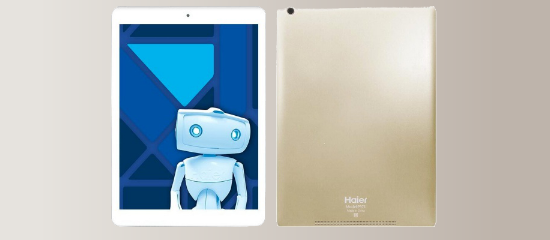 The Haier Pad 971 in Golden