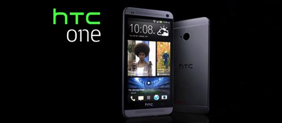 Dispositivo móvil HTC One.