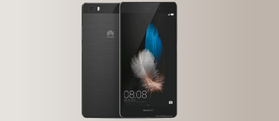 Huaweil P8 lite in black
