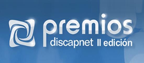 Logo de los premios Discapnet